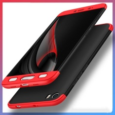 Buy 360 Degree Full Protect Hard Pc Cases For Xiaomi Mi 5 5 15 Inch Fashion Thin 3In1 Cover Case Back Cover Coque With Tempered Glass Black Red Intl Cheap China