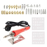 Buy 37 Pcs Soldering Iron Pyrography Wood Welding Craft Tool Kit Includes Soldering Iron Pen Holding Stand Various Replacement Welding Point Heads Tips Uk Plug Intl Cheap Hong Kong Sar China