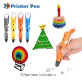 Price Comparisons Of 3D Printing Drawing Pen Crafting Modeling Abs Filament Arts Printer Tool Gift Intl