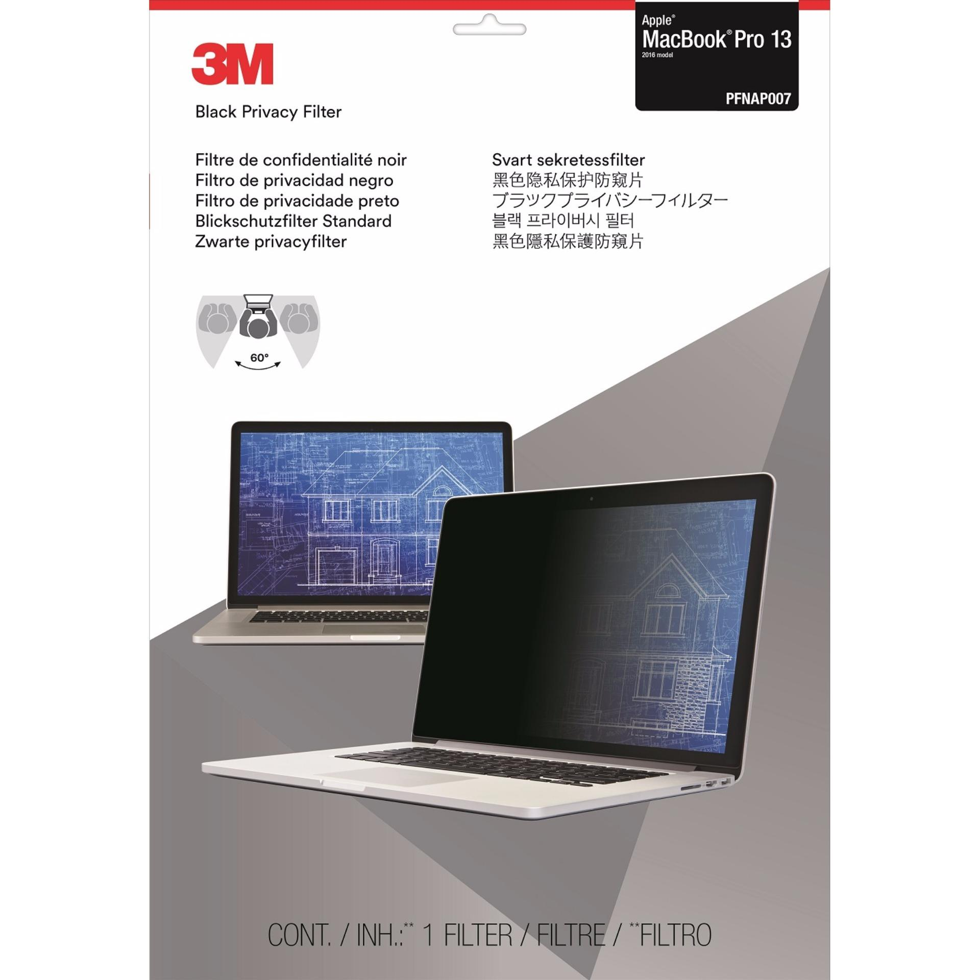 3m™ Privacy Filter For 13 Apple® Macbook Pro® - (2016 Model) By 3m Official Store.