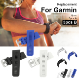 Best Rated 3Pcs Replacement Soft Silicone Strap Band For Garmin Vivoactive Hr Watch Th506