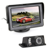 Who Sells The Cheapest 4 3 Tft Car Lcd Rearview Monitor Ir Reverse Backup 7 Led Night Version Camera Online