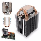 Price 4 Heat Pipe Cpu Cooler Cooling Heatsink For Intel Lga1150 1151 1155 775 1156 Amd Intl Not Specified Online