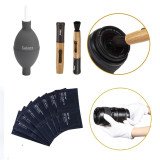 4 In1 Professional Camera Lens Cleaning Kit Air Blower Clean Pen White Gloves Cleaning Wipes Shop