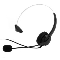 Best Buy 4 Pin Monaural Telephone Headset Headphone With Microphone For Call Center Home Export