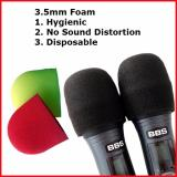 Purchase 60 Disposable Microphone Foam Microphone Cover 3 5Mm Red And Yellow Or Black Online
