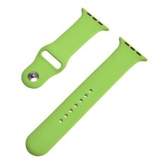 42mm S/M 1:1 Size Strap Silicone Bands Original Rubber Watchband For Apple
