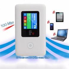Compare 4G Wifi Router Mifi 4G Lte Unlock Wireless Broadband 4G Wi Fi Bridge Mobile Modem Intl