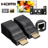 Buy 4K 2K 1080P 3D Hdmi Over Rj45 Cat 5E Cat 6 Network Lan Ethernet Cable Extender Intl Not Specified
