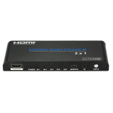 5 1 Hdmi 2 Switcher 5 Hdmi Input To 1 Hdmi Output Switcher Adapter Supports 3D Uhd 4K At 60 30 With Hdcp 2 2 Ir Remote Control For Ps3 Ps4 Blu Ray Dvd Player To Hdmi Monitor Projector Export Not Specified Discount