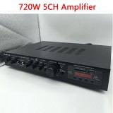 5 Channel 720 Watt Bluetooth Hifi Professional Power Stereo Amplifier Amp Intl Best Buy