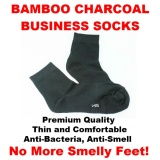 Who Sells 5 Pairs Bamboo Charcoal Business Socks For Gents The Cheapest