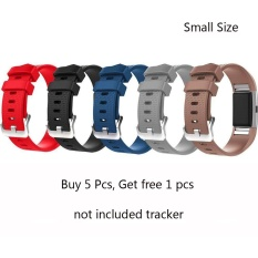 5 Pcs Free 1 Pcs Sports Silicone Strap Band Small Size 5 1 7 6 130Mm 193Mm For Fitbit Charge 2 Smart Watch Intl Promo Code