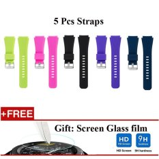 5 Pcs Sports Silicone Bracelet Strap Band For Samsung Gear S3 Classic S3 Frontier Intl Shopping