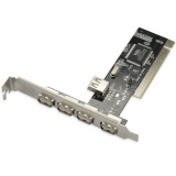 Discount 5 Port High Speed Usb 2 Pci Controller Card Chip 4 1 Intl Oem On China