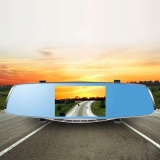 Top 10 5 Full Hd 1080P Auto Car Dvr Rearview Mirrors Camera Video Recorder Dash Cam Intl