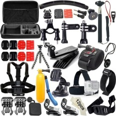 Coupon 50 In 1 Sport Accessory Kit For Gopro Hero 4 Session Hero1 2 3 3 4Sj4000 5000 6000 7000 Xiaomi Yi Intl