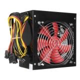 500W 12V Pc Cpu Power Supply Pcie Sata Connector Computer 20 24 Pin Atx Power Intl Deal