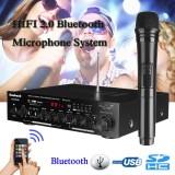 Sale 500W 2 Ch Bluetooth Digital Echo Karaoke Amplifier Microphone Receiver System Intl Not Specified Online