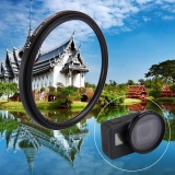 Low Cost 52Mm 3 In 1 Round Circle Uv Lens Filter With Cap For Gopro Hero5 Intl