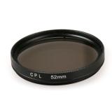 Sales Price 52Mm Round Circle Cpl Lens Filter For Gopro Hero 4 3