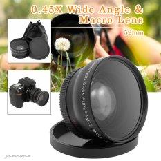 Promo 52Mm Wide Angle Macro Lens For Panasonic Lumix Dmc Gf1 Gf2 Gf3 G1 G2 G3 G3K Lf36 Intl
