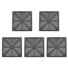 5pcs Dustproof 120mm Case Fan Dust Filter Guard Grill Protector - intl