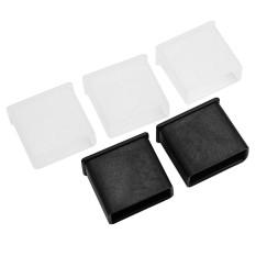 5Pcs Plastic USB Type Male Anti-dust Plug Caps Covers Anti Dust Protector Lids - intl