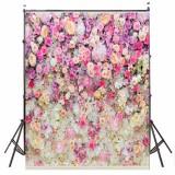 Price 5X7Ft Flower Wall Wood Floor Backdrop Studio Props Vinyl Photography Background Export Intl Not Specified China