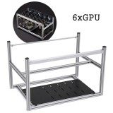Discount 6 Gpu Mining Frame Case Set Stackable Design Intl Not Specified