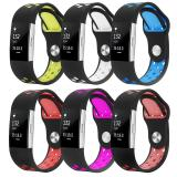 Discount 6 Pack Soft Silicone Replacement Adjustable Sport Strap For Fitbit Charge 2 Hr Heart Rate Fitness Wristband Intl Oem On China