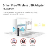 Sale 600Mbps 2 4G 5 8G Dual Band Wireless Usb Wifi Dongle Adapter 802 11Ac A B G N Intl Sifree Cheap