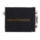Brand New 60M Vga Network Signal Extender Sender Rj45 Cat5E 6 Transmitter Receiver Adapter