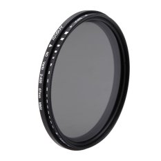 67mm Nd Fader Neutral Density Adjustable Nd2 To Nd400 Variable Filter For Canon Nikon Dslr Camera (export) By Tomtop.