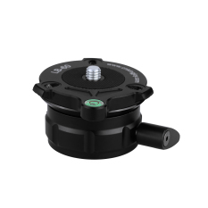New 69Mm Speedy Adjustable Leveling Base Panning Level With Offset Bubble Level For All Tripods With 1 4 3 8 Thread Export
