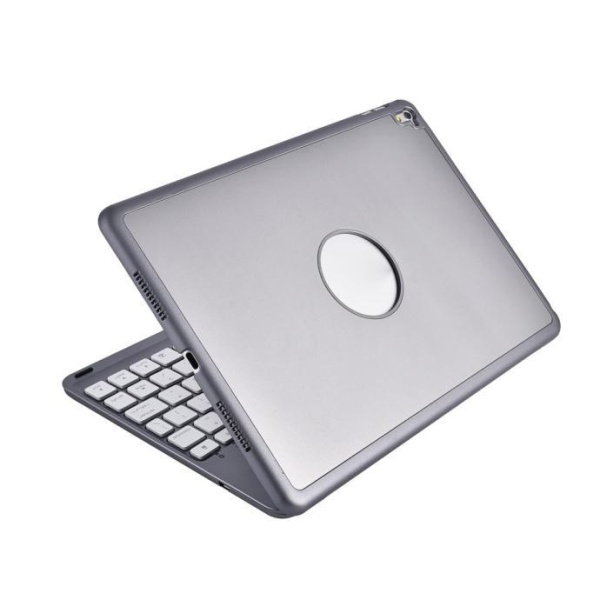 7 Colors Backlit Bluetooth Keyboard Smart Folio Case For iPad Pro 9.7inch GY Singapore
