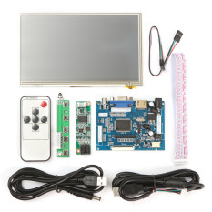 Where Can You Buy 7 Inch Hdmi Hd 1024X600 Touch Screen Display Module Board Kit For Raspberry Pi Intl