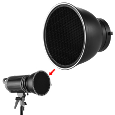 Buy 7 Standard Reflector Diffuser Lamp Shade Dish With 60 Honeycomb Grid For Bowens Mount Studio Strobe Flash Light Speedlite Outdoorfree Not Specified Cheap