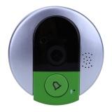 720P Hd Wireless Doorbell Wifi Video Peephole Ip Door Camera Eye Intl Free Shipping