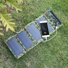 Cheapest 7W 5V Outdoor Foldable Monocrystalline Silicon Solar Panel Charger Portable Usb Charger For Mobile Phone Power Supply Intl