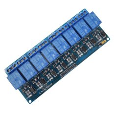8-Channel 5V Relay Shield Module for Arduino UNO 2560 1280 ARM PIC AVR STM - intl