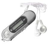 Sale 8G Usb Flash Drive Lcd Screen Mini Mp3 Music Player With Fm Radio 8Gb Car Silver Oem Branded