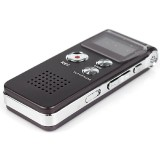 Recent 8G Usb Rechargeable Sound Recorder Dictaphone Mp3 Player Brown Audio Digital Voice New Brown Intl