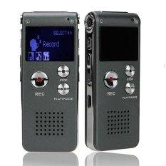 Sale 8Gb Brand Mini Usb Flash Digital Audio Voice Recorder 650Hr Dictaphone Mp3 Player Grey Pen Drive Grabadora De Voz Pen Record Intl China