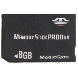 8Gb Memory Stick Pro Duo Card Black Oem Cheap On China