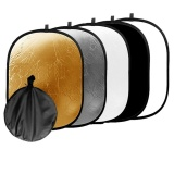 90 120Cm 5 In 1 Photo Studio Collapsible Light Reflector Case Intl Lowest Price