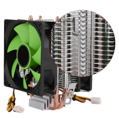 Price Comparison For 90Mm 3Pin Dual Sided Fan Cpu Cooler Heatsink Quiet For Intel Lga775 1156 1155 Amd Am2 Am2 Am3 Intl