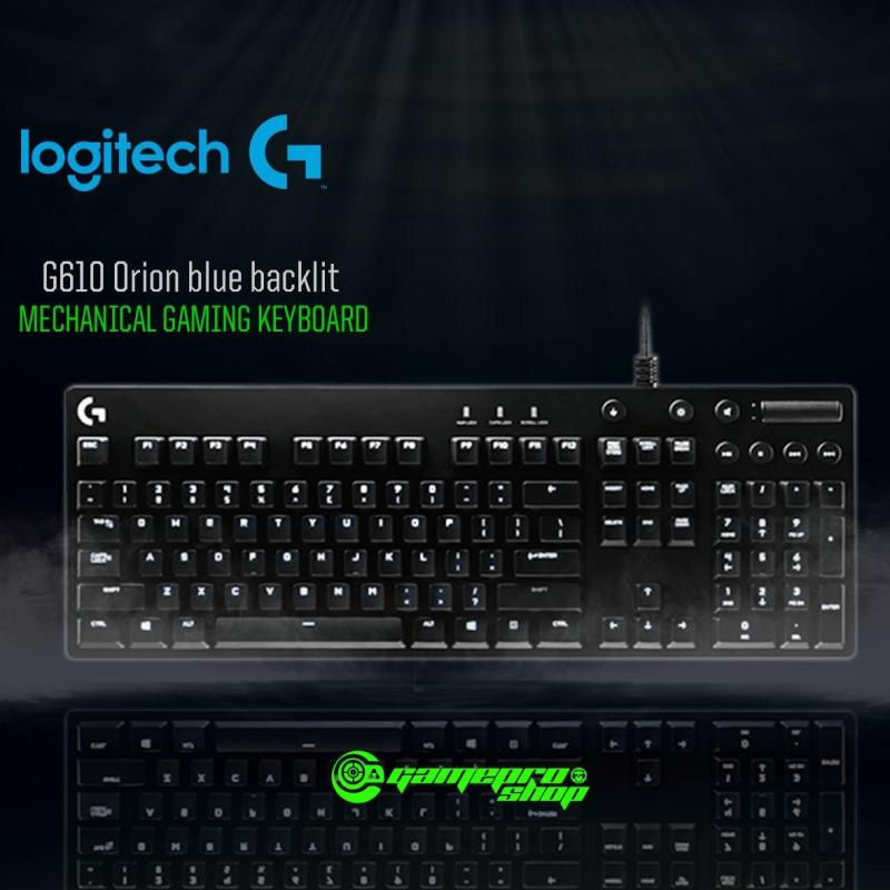 920-008005 Logitech G610 Orion blue backlit Mechanical Gaming Keyboard Singapore