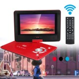 9 8 Portable Car Rechargeable Dvd Player Remote Control Swivel Screen Usb Red Intl Coupon