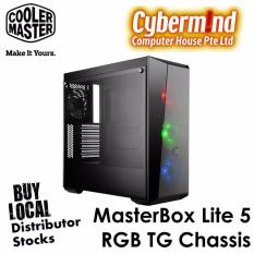Cheapest Coolermaster Masterbox Lite 5 Rgb Tempered Glass Window Atx Tower Chassis Online
